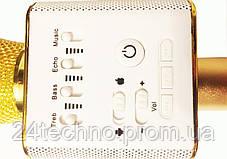Микрофон Bluetooth Караоке -микрофон Q9(в чехле), фото 3