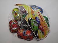 Шоколадные конфеты Laica тачки в сеточке 100 г