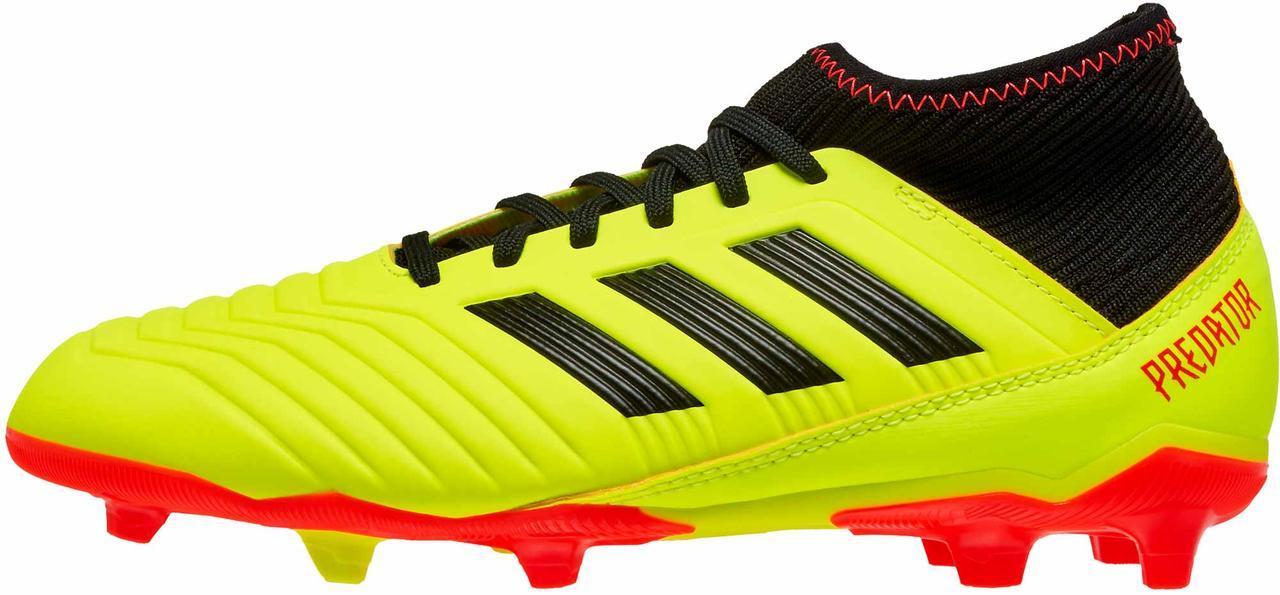 Детские копы Adidas PREDATOR 18.3 FG - Оригинал Eur 35 (21.5 см)