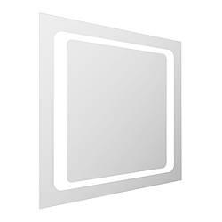VOLLE Зеркало квадратное 60*60см со светодиодной подсветкой