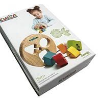 Деревянная игрушка Сортер круглый LT-1 Cubika 14361
