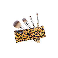 Набір пензликів для макіяжу з косметичкою Леопард Farmasi - 6,23 ББ / Far - 9700276