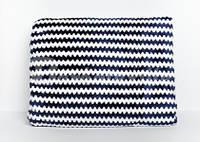 Плед флисовый цвет синий (200x220)