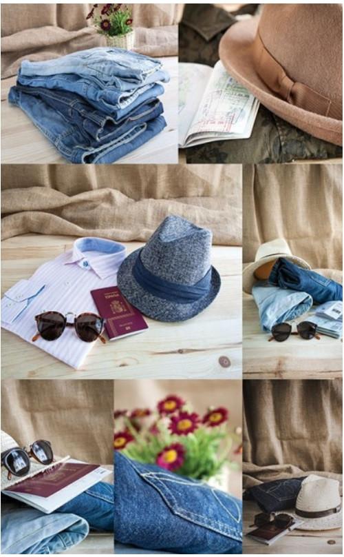 Подарочный пакет СРЕДНИЙ 17*26*8 см Одежда