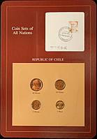 Набор монет Чили  (1-50 песо) 1982-1984 гг. (4 шт)