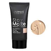 Матирующий тональный крем устойчивый Stay Matte Make Up Farmasi 30 мл / Far - 1302492