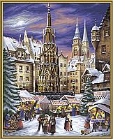 Художественный творческий набор Рождественская ярмарка в Нюрнберге, 40х50 см