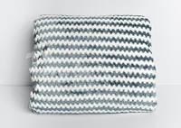 Плед флисовый цвет серый (200x220)