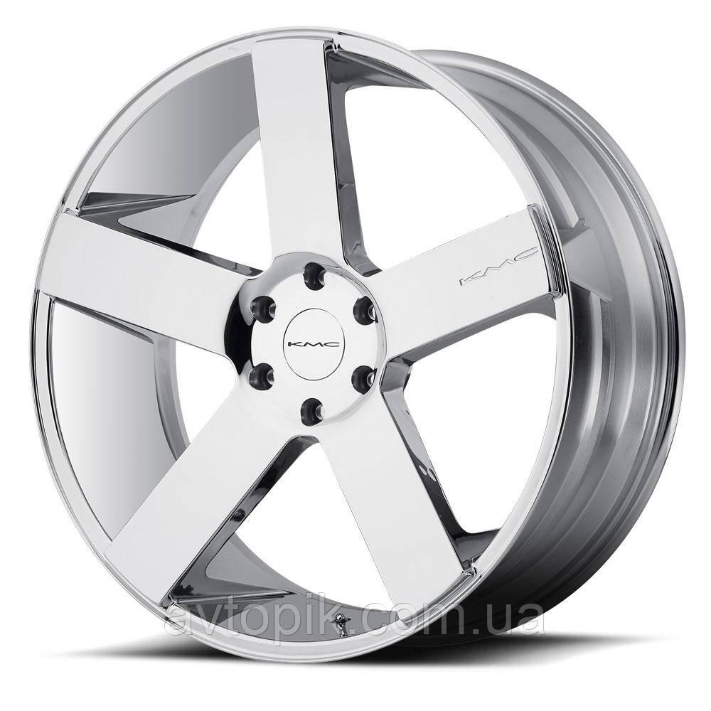 Литые диски KMC KM690 MC5 R22 W9 PCD5x150 ET30 DIA110.1 (chrome)