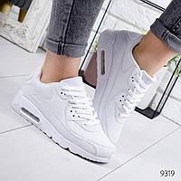 Модные женские кроссовки реплика Nike Air Max  белые, фото 1