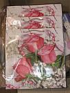 Подарочный бумажный пакет КВАДРАТ 24*24*10 см Нежные, фото 2