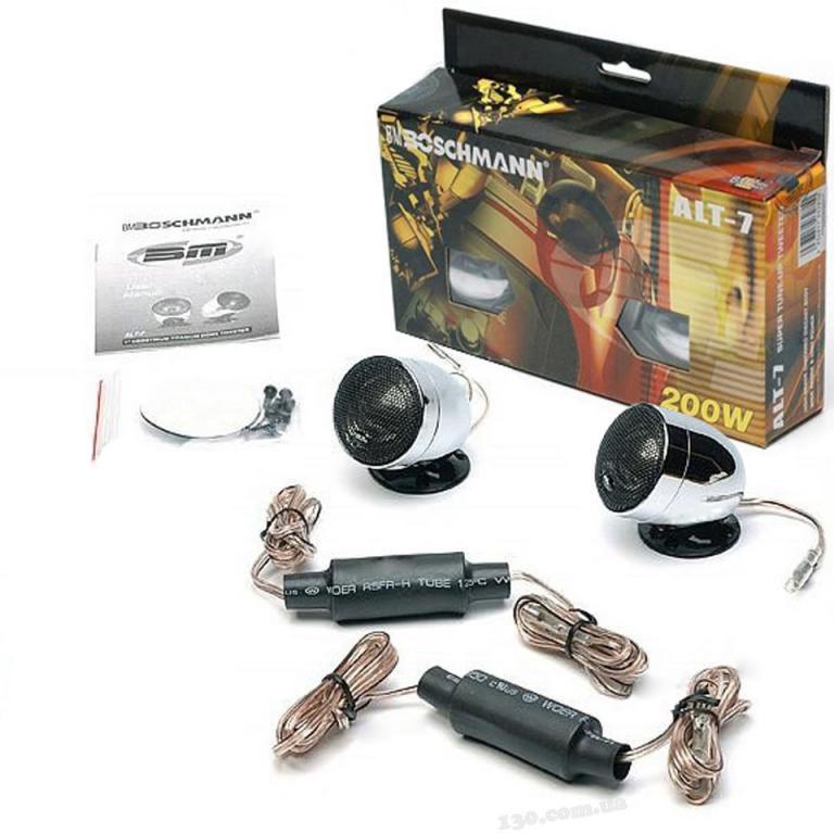 Твитеры BM Boschmann ALT-7S пищалки бошман комплект для авто 2 шт