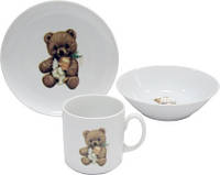 Набор детской посуды Cmielow Teddy Bear 6503T06E2B123