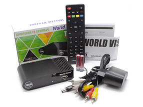ТВ тюнер Т2 World Vision T-65M HD DVB-T2, тв приставка, ресивер, цифровое телевидение, фото 3