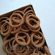 Мягкая эластичная резиночка для хвостиков 4,5 см, НЮД