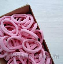 Мягкая эластичная резиночка для хвостиков 4,5 см, НЕЖНО-РОЗОВЫЙ