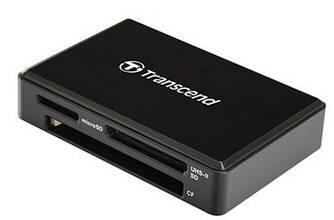 Кардридер Transcend USB 3.1 UHS-II Multi Card Black