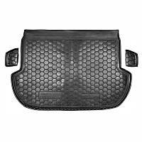 Коврик в багажник SUBARU Forester (2013>)  (пластик) (Avto-Gumm)