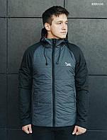 Чоловіча куртка/ Мужская демисезонная стеганная куртка стафф Staff soft KKK0193