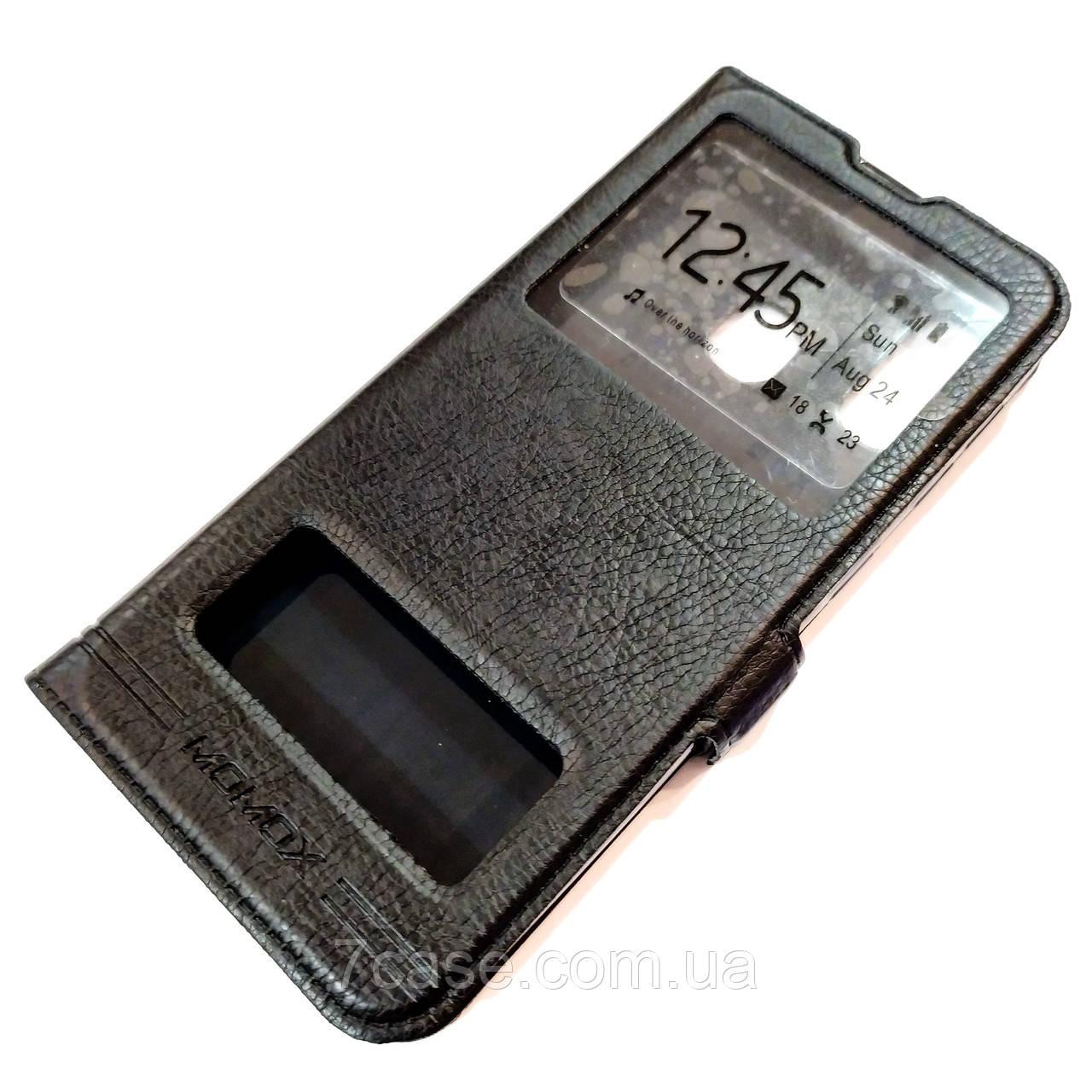 Чехол книжка с окошками momax для Samsung Galaxy A20e A202F