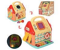 Развивающая игрушка сортер KD3602 с музыкальными и световыми эффектами