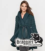 Braggart Youth   Весенне-осенняя женская куртка 25755 зеленая