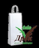 Белый крафт пакет с ручками (150х90х360)