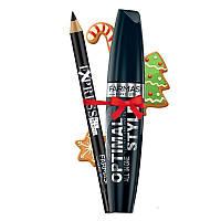 Набор: Тушь для ресниц Optimal Style + Карандаш Express Eye Pencil Farmasi / Far - PK10110