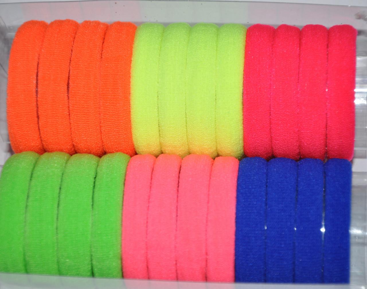 Яркие Чулочные Резинки для волос (24 шт)