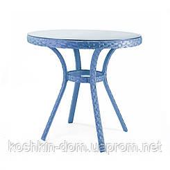 Стол Блюз плетенная мебель из искусственного ротанга