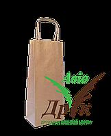 Бурый крафт-пакет с ручками (150х90х360)