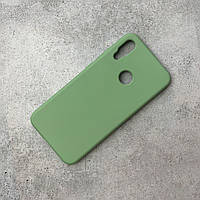 Чохол-накладка Silicone Cover Full Protective WAVE Xiaomi Redmi Note 7 Mint gum