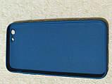 Накладка   Silicon Cover full   для    iPhone  6  Plus   (темно-синий) Copy, фото 2