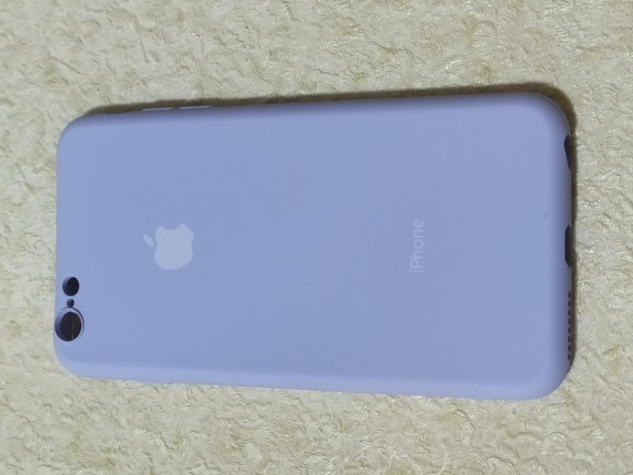 Накладка   Silicon Cover full   для    iPhone  6  Plus   (фиолетовый) Copy