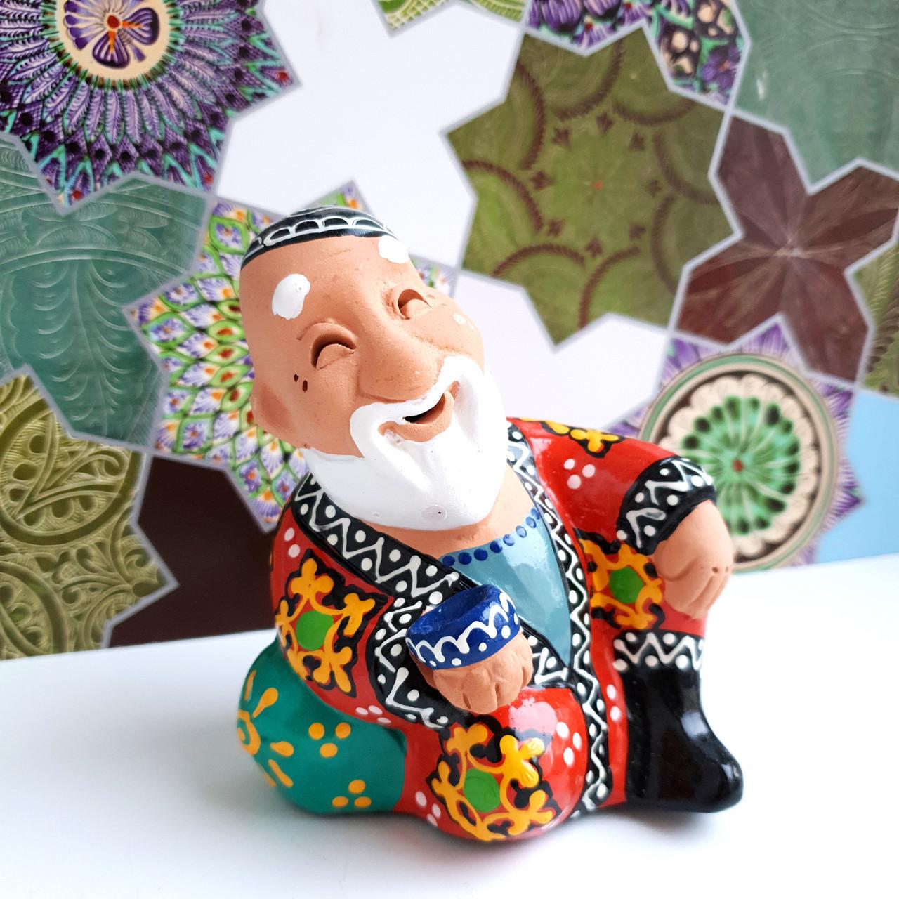 """Керамический сувенир """"Бабайчик"""". Узбекистан"""