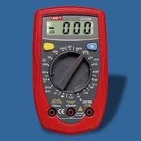 Мультиметр DT U33B, многофункциональный цифровой тестер, измерение тока, напряжения, сопротивления DT UT33B