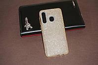Чехол бампер силиконовый для Samsung Galaxy A10s (SM-A107) Самсунг Glitter с блестками