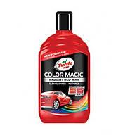 Полироль для кузова автомобиля TURTLE WAX COLOR MAGIC Красный 500мл, фото 1