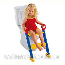 Детское сиденье на унитаз со ступенькой👨👧👦