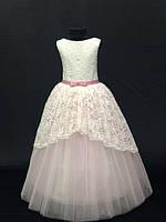 Нарядное бальное детское платье Анита на 8-9 лет