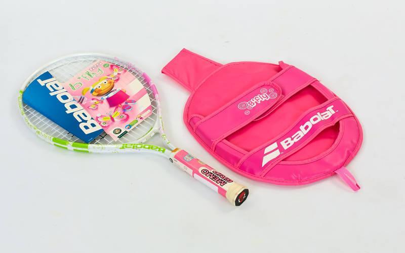 Ракетка для большого тенниса юниорская Babolat B FLY 125 JUNIOR (салатовый) PZ-140095-100