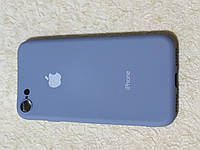 Накладка   Silicon Cover full   для  iPhone 7 / 8    (серый)