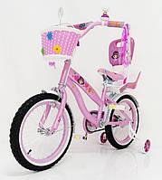 Детский двухколесный велосипед  (от 5 лет) на 16 дюймов JASMINE