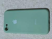 Накладка Silicon Cover full для iPhone 7 / 8 (мятный) Copy