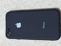 Накладка   Silicon Cover full   для  iPhone 7 / 8    (черный)