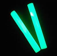 """Полимерная глина """"Пластишка"""", зеленого свечения, люминофорный, фосфоресцентный, 75 г"""