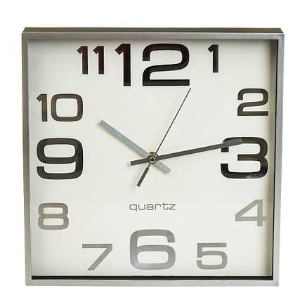 """Часы """"Белый ретро квадрат"""" (28см), фото 2"""