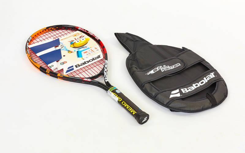 Ракетка для большого тенниса юниорская Babolat BALLFIGHTER 23 JUNIOR (оранжевый-красный) PZ-140136-144