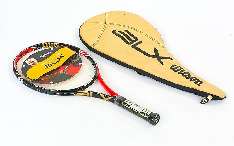 Ракетка для большого тенниса Wilson SIX ONE BLX 25 (черный-красный) PZ-WRT530100