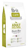 Сухой корм для собак малых пород Brit Care Adult Small Breed Lamb & Rice с ягненком и рисом 7,5 кг